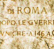 Il Dominio di Roma Sticker