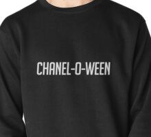 Chanel-O-Ween-- White Pullover
