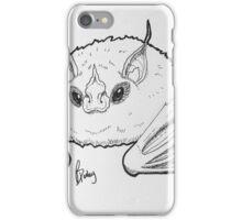White Bat iPhone Case/Skin