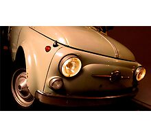 Old Fiat 500 Photographic Print