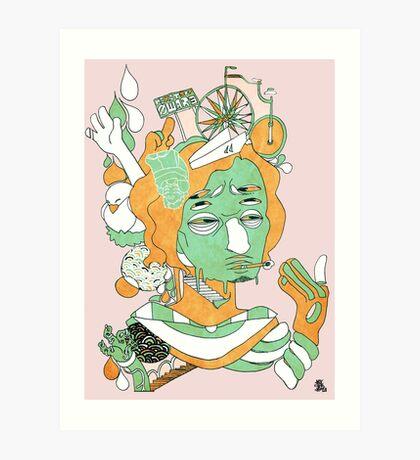 Anx - Manifest 02 Art Print