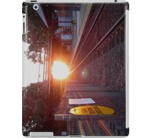 Sun Rise on the Tracks iPad Case/Skin