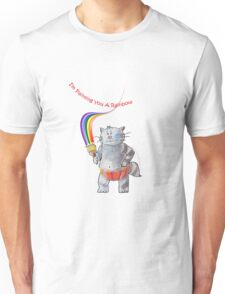 Painting A Rainbow Just For You   (Original Artwork by Alice Iordache) Unisex T-Shirt
