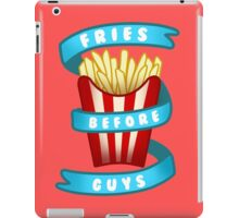 Fries Before Guys iPad Case/Skin