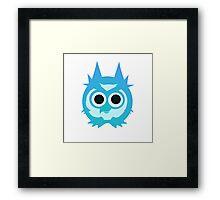 Night Owl Vector Art Framed Print