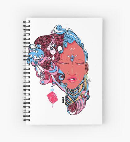 Permanance - Manifest 01 Spiral Notebook