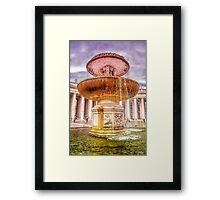 God's Fountain Framed Print