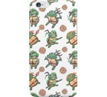 Hero Ninja Super Pizza iPhone Case/Skin