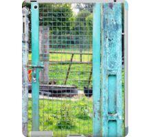 Le mystère des vieilles portes bleues ! iPad Case/Skin