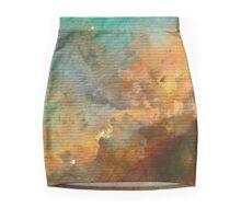 Omega/Swan Nebula - Watercolour Mini Skirt