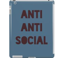 Social Butterflism iPad Case/Skin