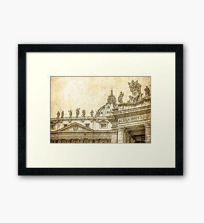 The Art in Vatican Framed Print