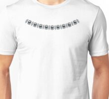 Strong Black Pearl Necklace Unisex T-Shirt