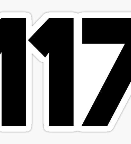 117 Sticker