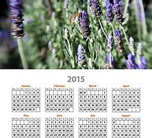 2015 Bumble bee Calendar by DavidMay