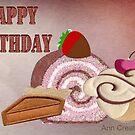 Birthday treats  by Ann12art