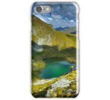 Romanian Carpathians and glacial lake Capra iPhone Case/Skin