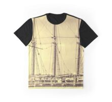 The Romance of The Sailing Ships Graphic T-Shirt
