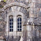 Windows in Gatehouse, Lews Castle, Stornoway, Western Isles by BlueMoonRose