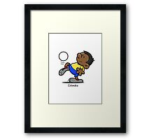 2014 World Cup - Colombia Framed Print