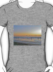 Fishing The Surf At Sunrise - Island Beach State Park - New Jersey - USA T-Shirt