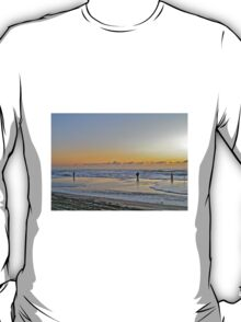 Fishing The Surf At Sunrise - Island Beach State Park - New Jersey - USA T-Shirt
