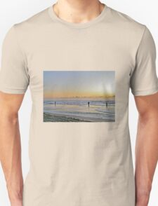 Fishing The Surf At Sunrise - Island Beach State Park - New Jersey - USA Unisex T-Shirt