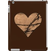 Barbed Wire Heart iPad Case/Skin