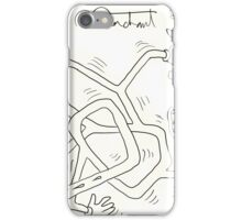 Mark C. Merchant brand doodle and writing iPhone Case/Skin