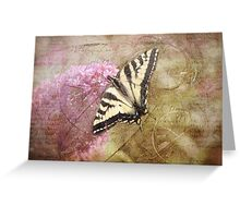Time For The Butterfly Greeting Card