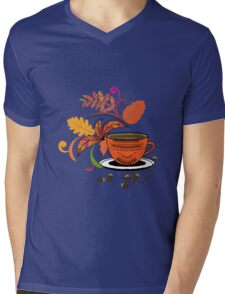 Autumn Hello October Mens V-Neck T-Shirt