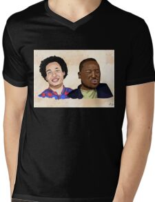 Eric and Hannibal best buds Mens V-Neck T-Shirt