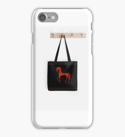 Etruscan Horse Tote Bag iPhone Case/Skin