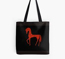 Etruscan Horse Tote Bag by Shulie1