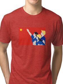Communist Propaganda, Vietnam Tri-blend T-Shirt