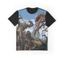 The Witcher - Roach Battle Graphic T-Shirt