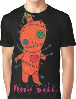 Pin & Needle VooDoo Doll Graphic T-Shirt