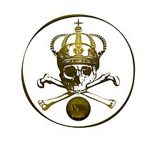 Skull And Crossbones Crowned by Vy Solomatenko