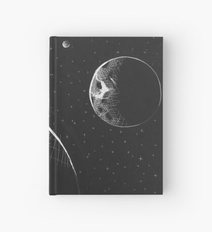Black and White Empty Space Hardcover Journal