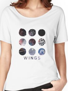 BTS- Wings Galaxy Women's Relaxed Fit T-Shirt