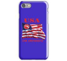 USA-We bear Arms- 2nd Amendment iPhone Case/Skin
