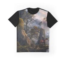 The Witcher 3 landscape Graphic T-Shirt