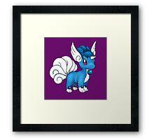 Vulpix/Dragonair Framed Print