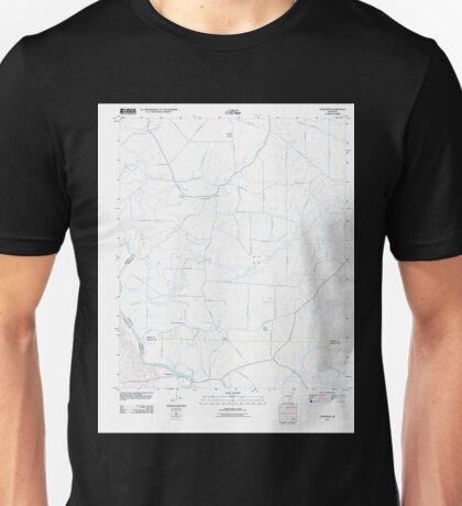 USGS TOPO Map Arkansas AR Longview 20110809 TM Unisex T-Shirt
