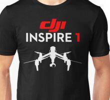 DJI Inspire 1 Drone pilot black Unisex T-Shirt