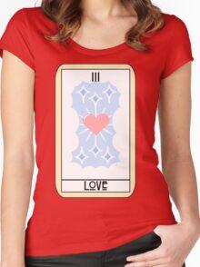 Love (Tarot Card III) Women's Fitted Scoop T-Shirt