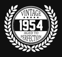 Vintage 1954 Aged To Perfection by 4season