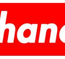 Chance The Rapper Supreme Sticker