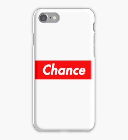 Chance The Rapper Supreme iPhone Case/Skin