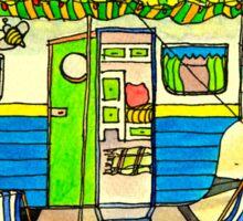 Sumer Holiday Caravan Series Sticker